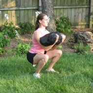 sandbag zercher squat