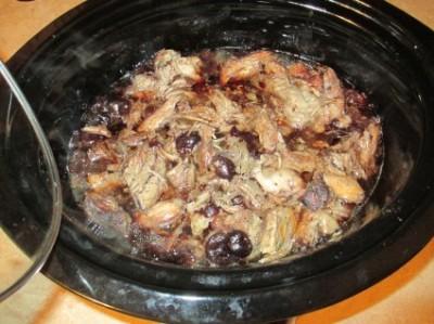 Crock Pot Cherry Pork Tenderloin