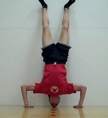 Bodyweight Exercise Progressions for Hip Thrusts, Pistols, Push-ups & Handstand Push-ups
