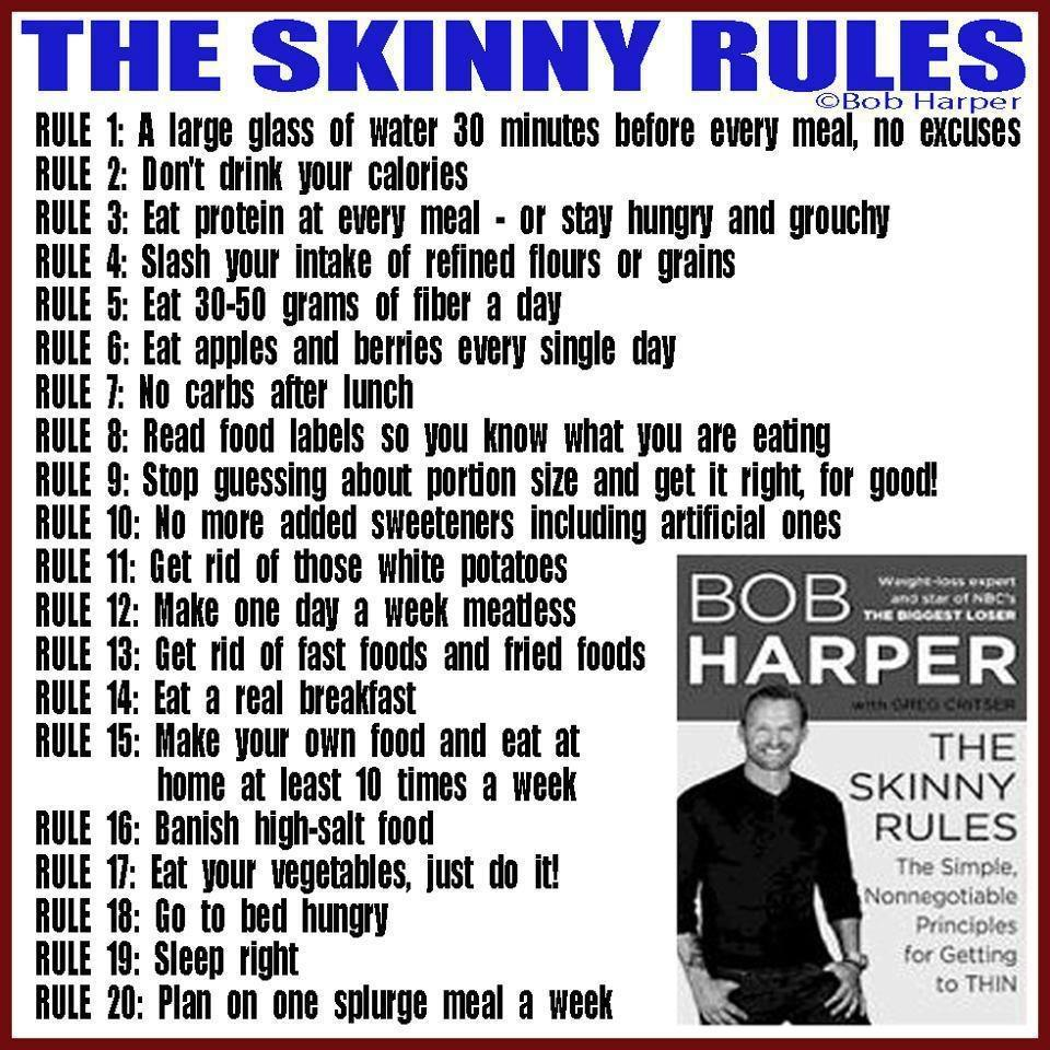 Why You Should Say NO to The Skinny Rules & YES to Being ...