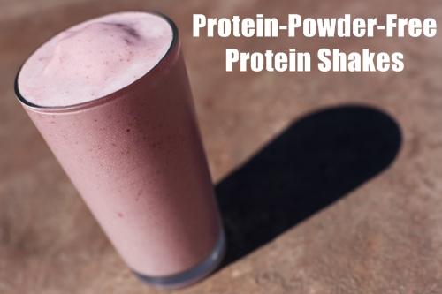 Protein Powder Free Shakes