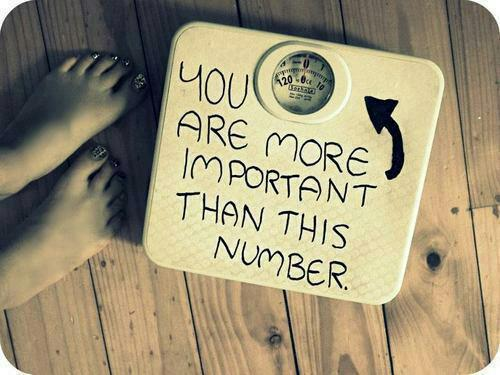 A Case for Staying off the Scale and Not Weighing Yourself