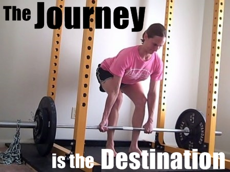 When It Comes to Building the Body You Want, the Journey is the Destination