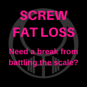 screw fat loss