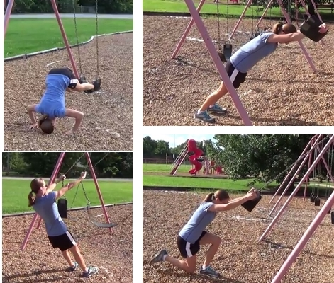 Total Body Workouts You Can Perform with a Swing Set (or Suspension Trainer)