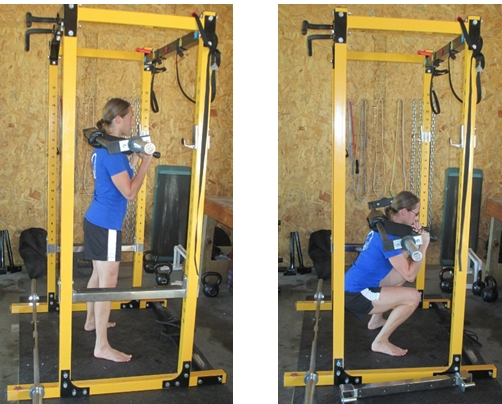 High rep squat workouts and variations for Homemade safety squat bar