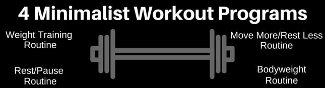 minimalist workout routines