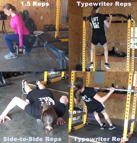 different bodyweight techniques