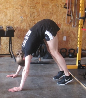easier pike pushup variation