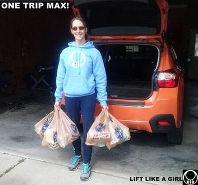 one trip max