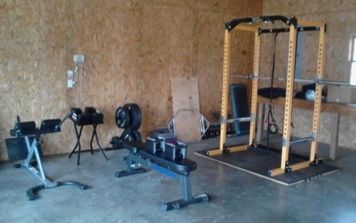 Build a home gym according to budget available space