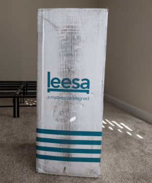 leesa mattress boxed