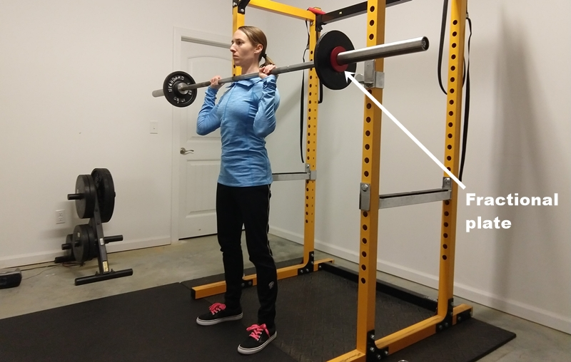 For the Best Results, Women Must Use Fractional Plates for Barbell Exercises
