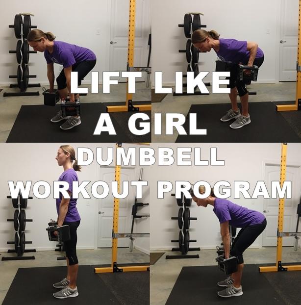 lift like a girl dumbbell workout program