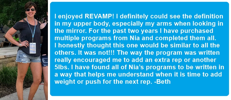 Beth's testimonial