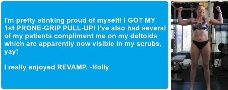 Holly's testimonial