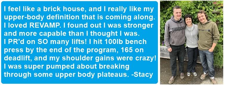 Stacy's testimonial