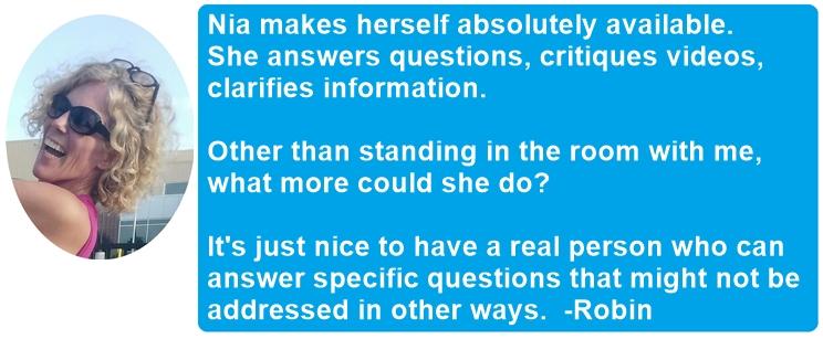 Robin coaching feedback