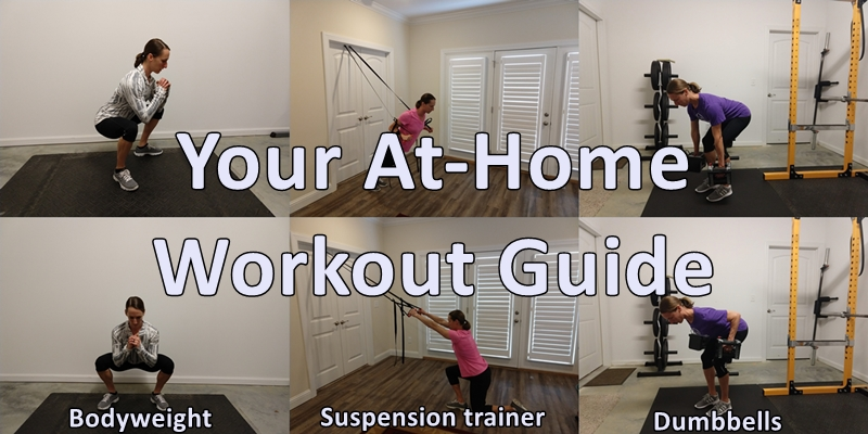 at-home workout guide
