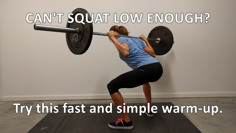how to squat lower