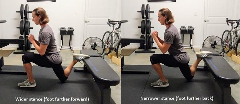 adjust stance